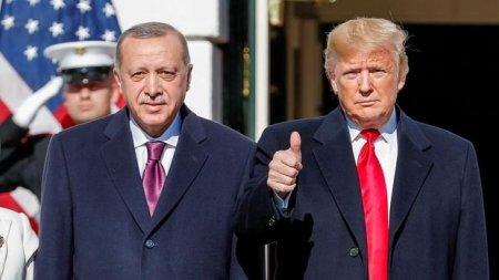 Tramp: Ərdoğanla birlikdə İdlib məsələsinin üzərində işləyirik