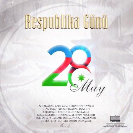 İlham Əliyevdən Respublika Günü ilə bağlı paylaşım – FOTO