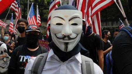 """ABŞ-dakı etirazlara """"Anonymous"""" haker qrupu da qoşuldu"""