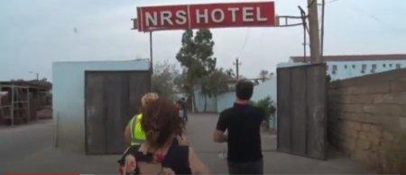Nərimanov rayonunda yerləşən Sabirabad hoteli karantin rejiminə riayət etmir - Video